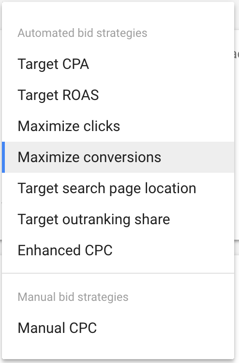 Google Ads CPC Types