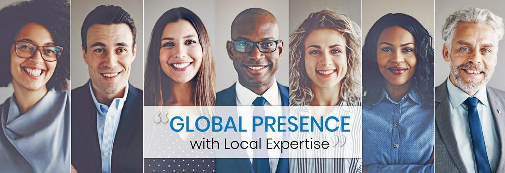 Global presence with local expertise